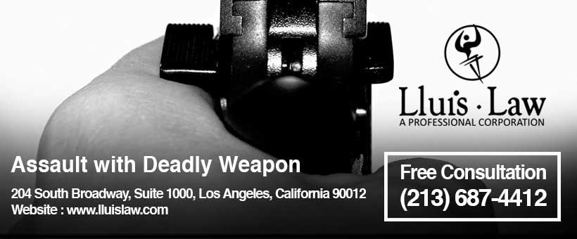 Los Angeles Assault lawyer