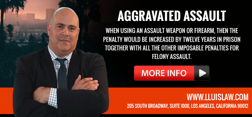 los angeles aggravated assault lawyer